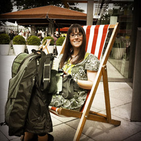 Rachel-Deckchair-in-London