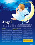 Angel meditation - Soul & Spirit magazine