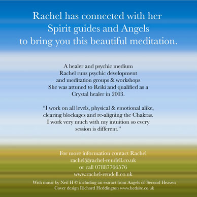 Angel Meditation cd booklet