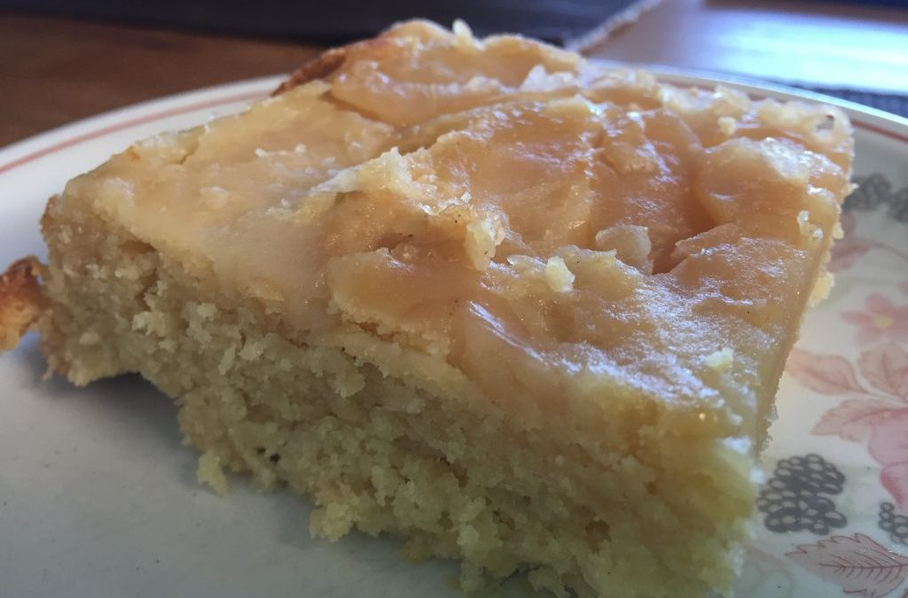 Vegan, Gluten free, Sugar free Apple Cake