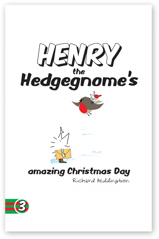 Henry the Hedgegnome's amazing Christmas Day