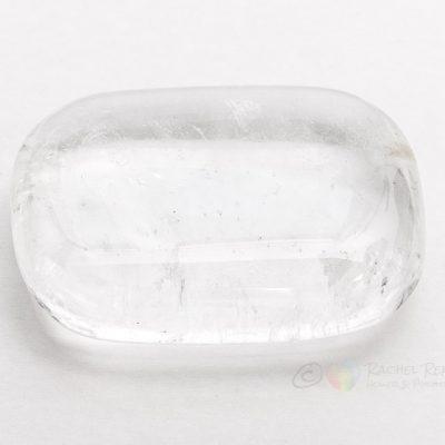 Clear Quartz palm stone.