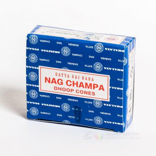 Nag Champa 12 dhoop cone incense