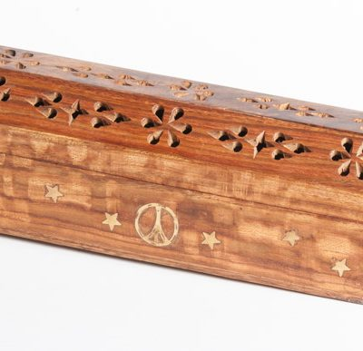 Love Peace and Joy Incense Smoke Box