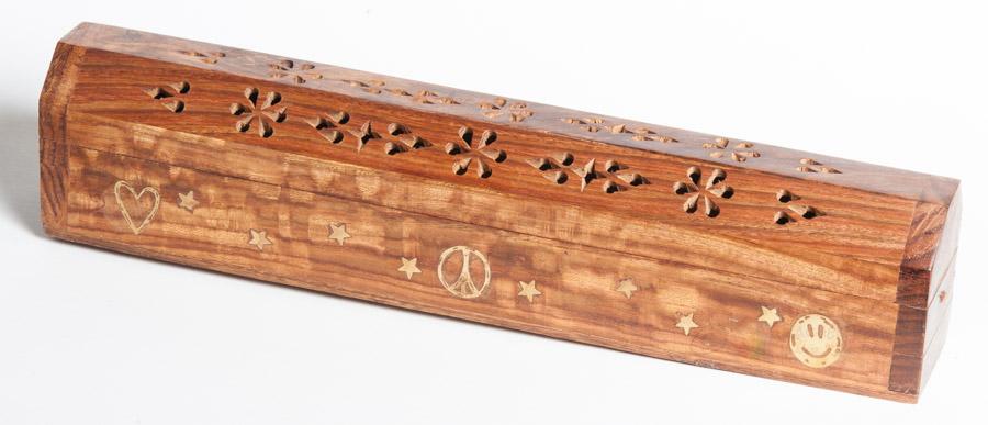 Love Peace and Joy Incense Smoke Box