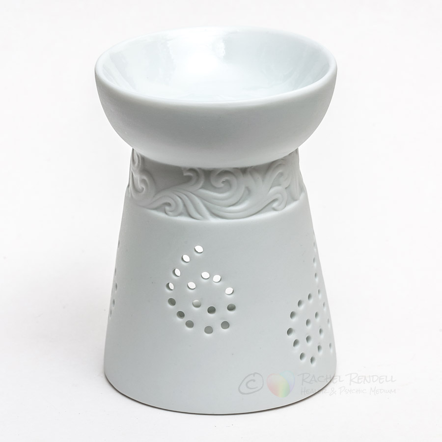 White China Oil Burner.