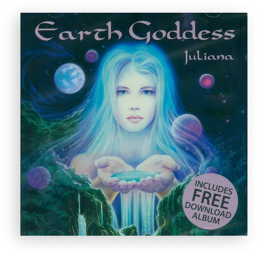 Earth Goddess CD by Juliana