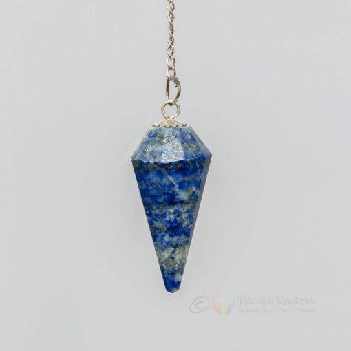 Lapis lazuli pendulum.