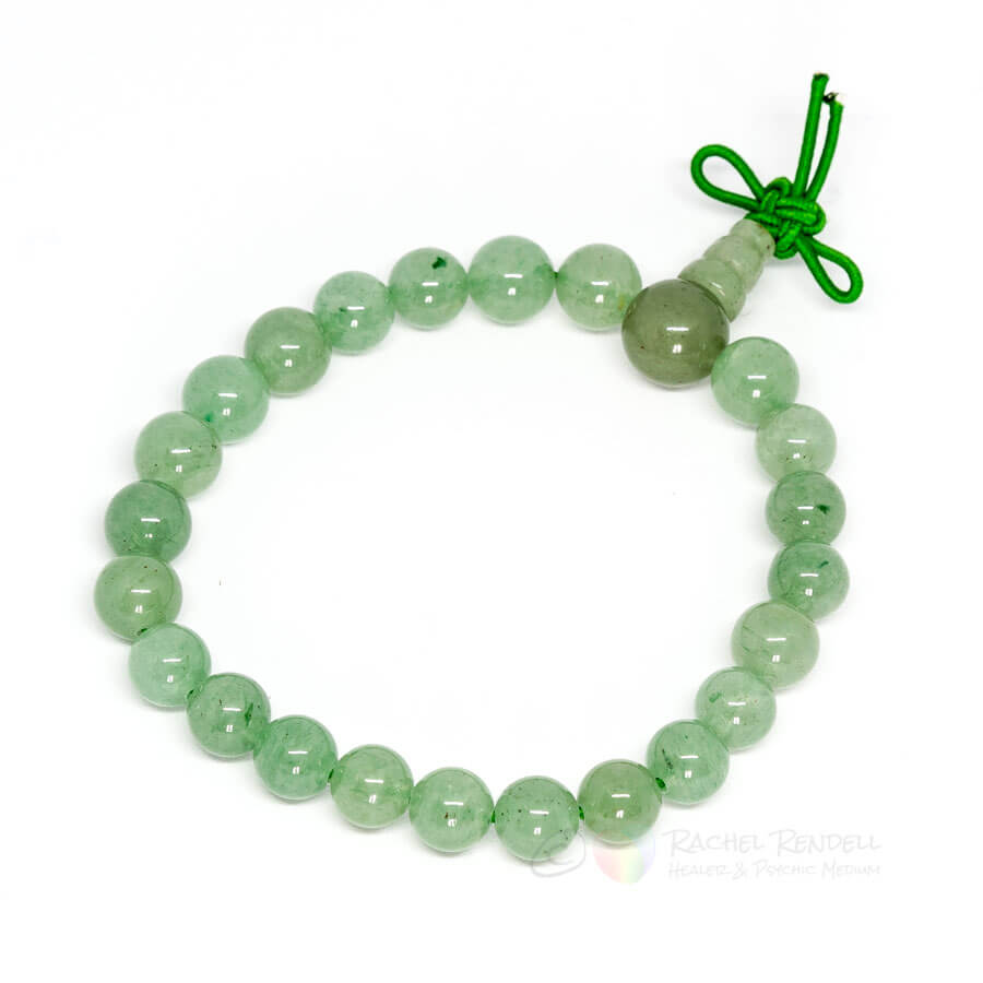 Aventurine power bracelet.