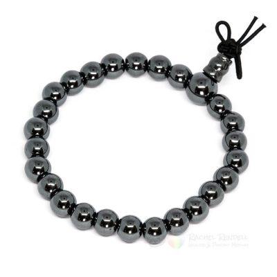 Hematite power bracelet.