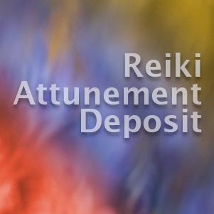 Reiki Attunement Deposit