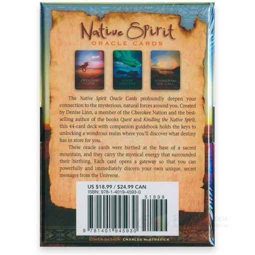 Native Spirit Oracle cards - back