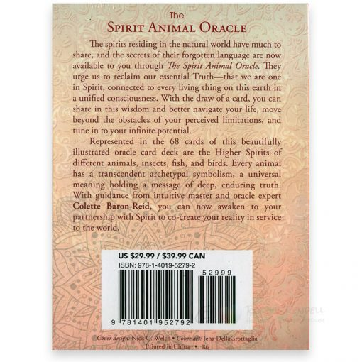 The Spirit Animal Oracle - back