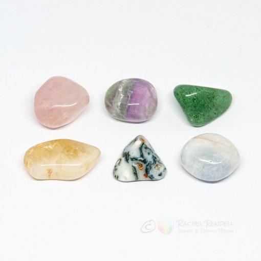 Attracting Love set- crystals
